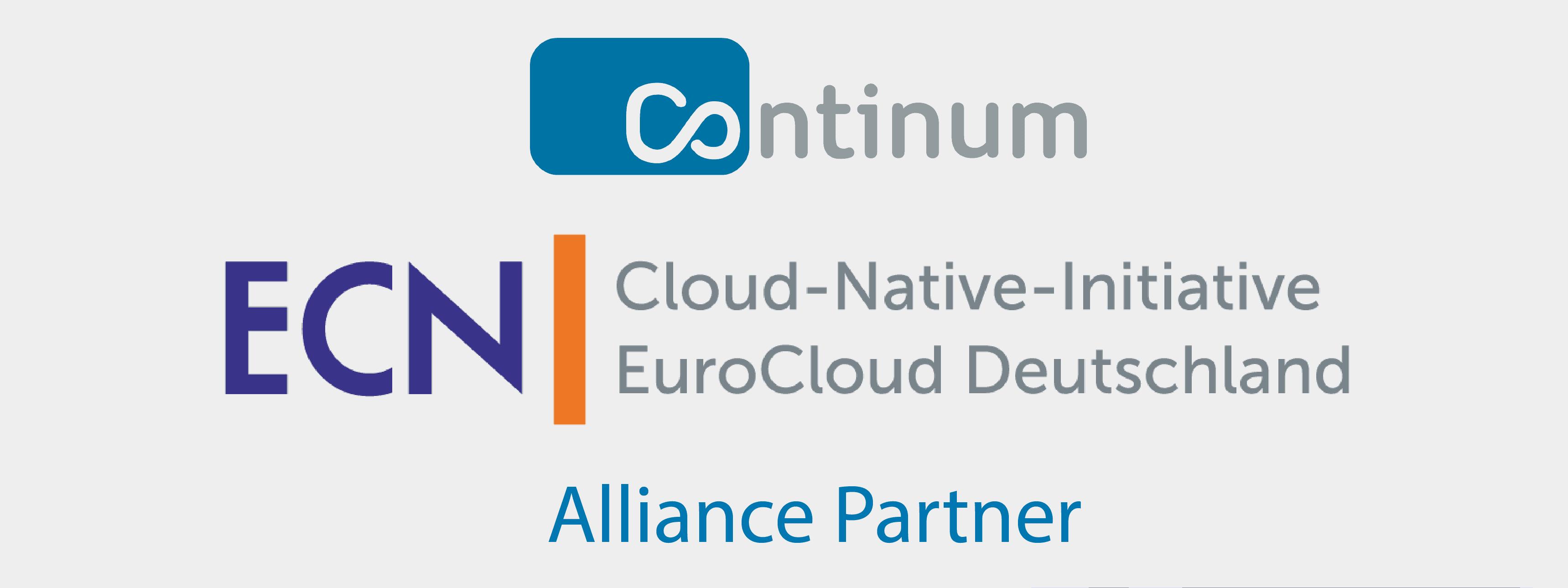 Der Cloud Services Anbieter Continum AG aus Freiburg in Baden-Württemberg unterstützt die EuroCloud-Native-Initiative als Alliance Partner.