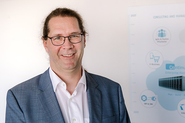 Thilo Rees, CISO und Datenschutzbeauftragter der Continum AG