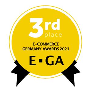 Ausgezeichnet - Die Continum AG aus Freiburg im Breisgau hat im Jahr 2021 mit Continum Managed Kubernetes den 3. Platz bei den E-Commerce Germany Awards in der Kategorie Infrastructure belegt.