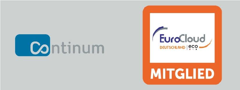 Die Continum AG aus Freiburg im Breisgau ist jetzt Mitglied des Verbands EuroCloud Deutschland_eco e.V.