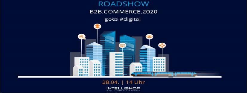 """Aufgrund der aktuellen Lage bieten unser Partner IntelliShop und wir das Event mit dem Fokusthema """"B2B E-Commerce in der Cloud"""" jetzt in digitaler Form als 4in1 Webinar an."""