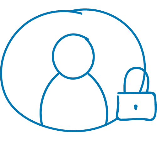 Der kundenexklusive Continum Servicebereich.
