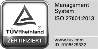 Die Continum AG aus Freiburg in Baden-Württemberg ist zertifiziert nach ISO 27001 durch den TÜV Rheinland.