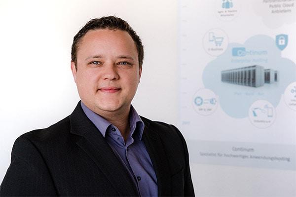 Vitalij Saks, stellvertretender Teamleiter Betrieb und Service der Continum AG