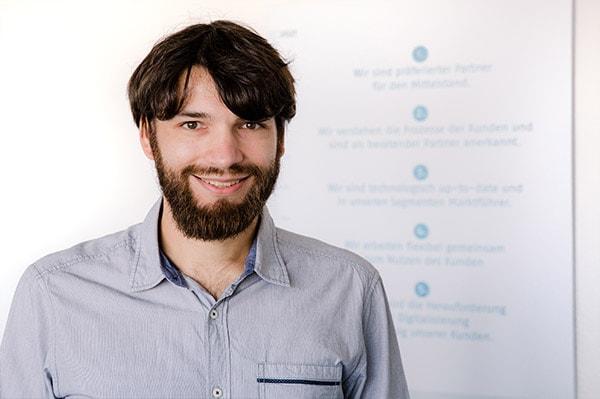 Pascal Braun, Teamleiter Entwicklung der Continum AG
