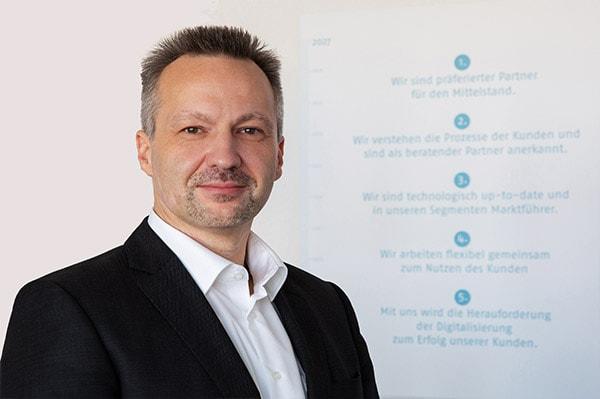 Markus Dörflinger, Vorstand Technik der Continum AG