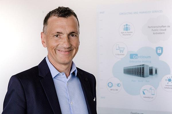 Julian Sayer, Vorstand Vertrieb, Marketing, Entwicklung der Continum AG